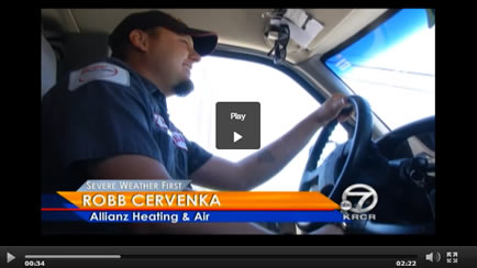KRCR News Channel 7 rode along with Robb Cervenka